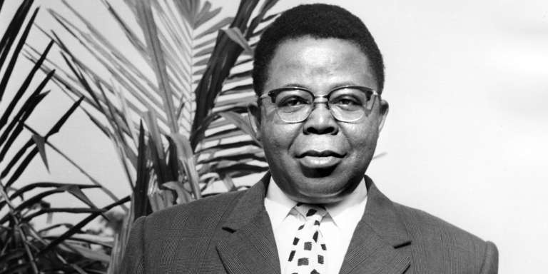 Joseph Kasa-Vubu, first president from 1960 to 1965 of the Republic of Congo, now Democratic Republic of Congo (DRC). &quot;Title =&quot; AFP &quot;onload =&quot; lmd.pic (this); &quot;onerror =&quot; lmd.pic (this); &quot;class =&quot; lazy-retina &quot;/&gt;    <figcaption class=