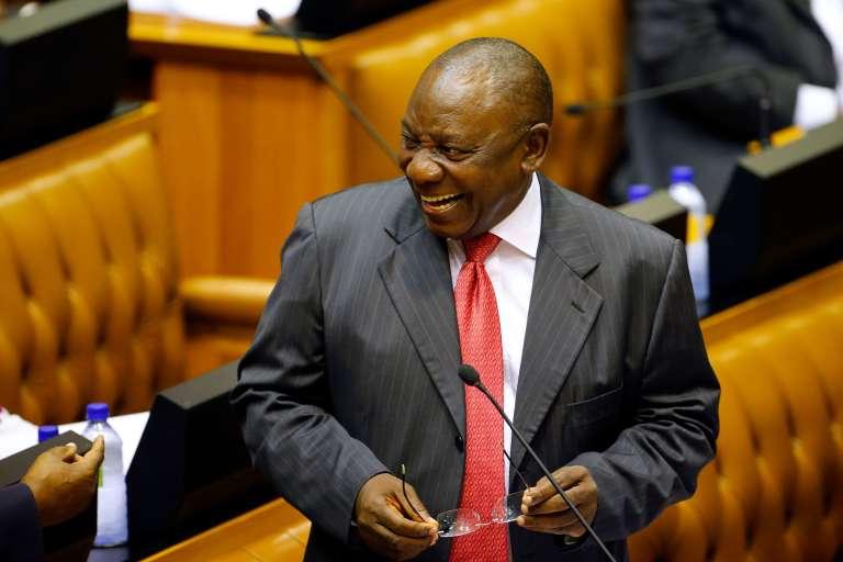 Cyril Ramaphosa, au Cap (Afrique du Sud), le 15 février.