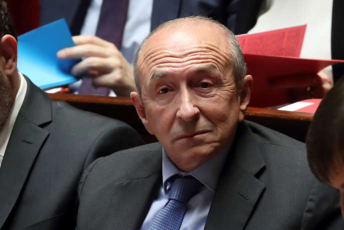 Gerard Collomb, on the benches of the National Assembly in February 2018.