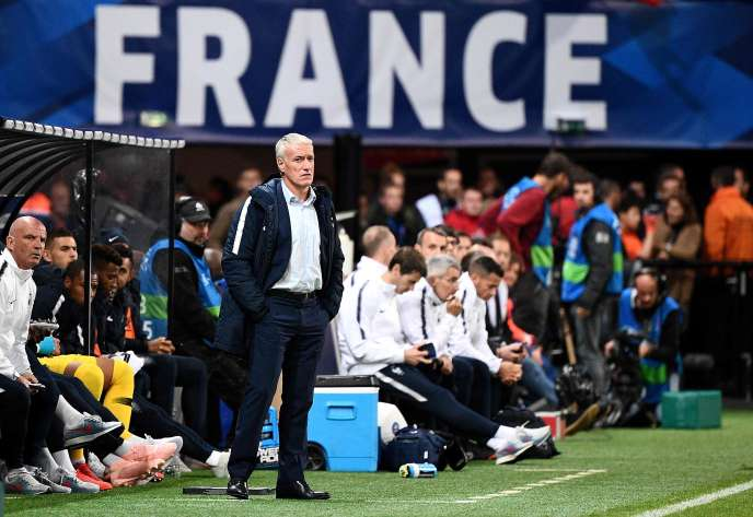 Didier Deschamps, October 11 at Guingamp.