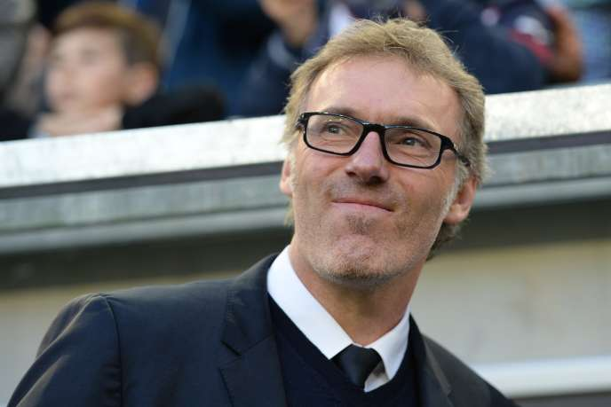 Laurent Blanc, on May 11, 2016 in Bordeaux.