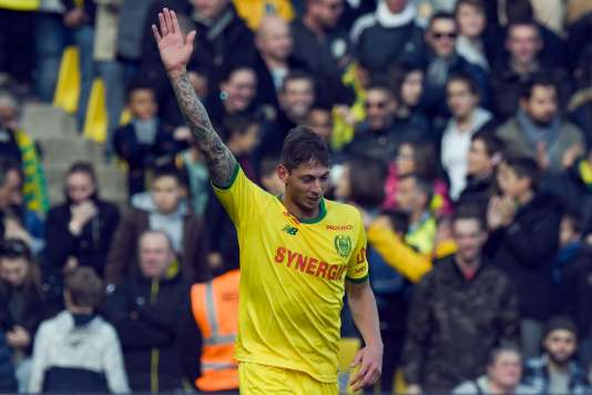 Author of ten goals this season, Emiliano Sala is the strongman of the Nantes attack.