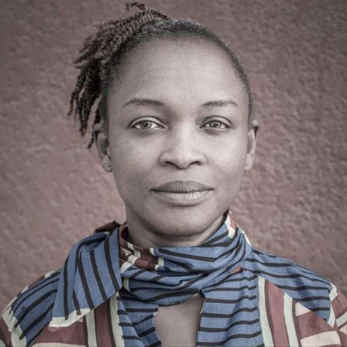 Koyo Kouoh,commissaire d'exposition camerounaise, installée à Dakar.