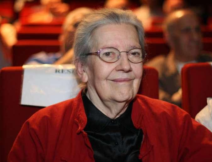 Josette Audin, durant la remise du prix de mathématique Audin à Paris, le 21 juin 2007.Militante communiste et anti-colonialiste, elle aura passé sa vie à se battre pour faire reconnaître la responsabilité de l'Etat français dans la mort de son mari, Maurice Audin. Elle est morte le samedi 2 février 2019.