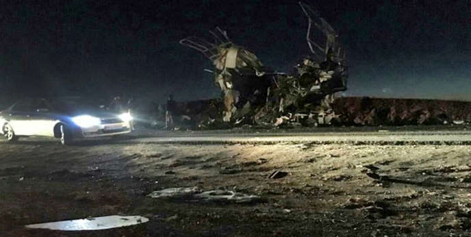 The attack, perpetrated in Baluchistan province, was claimed by a jihadist group.