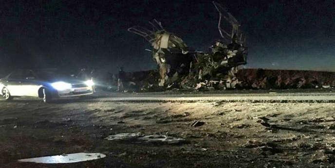 L'attaque, perpétrée dans la province du Balouchistan, a été revendiquée par un groupe djihadiste.