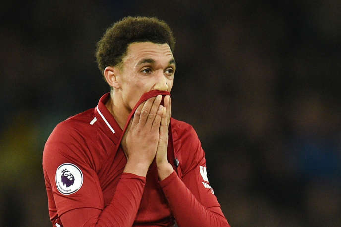 Trent Alexander-Arnold during the match against Everton on March 3, 2019.