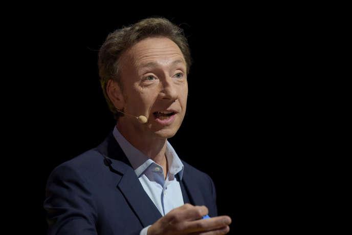 L'animateur du Loto du patrimoine, Stéphane Bern, le 11 octobre 2018 à Paris.