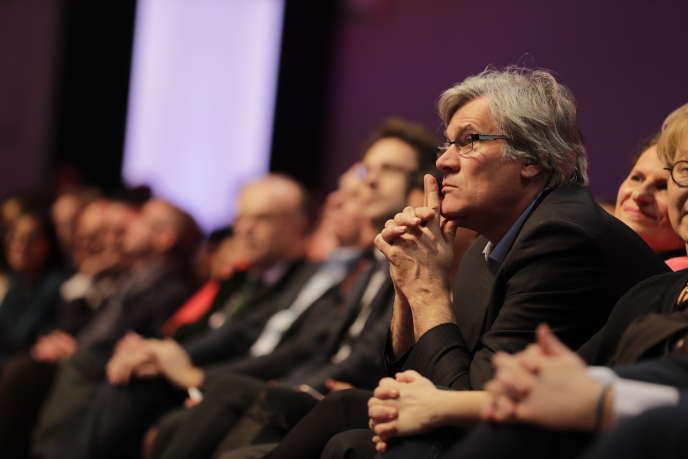 Stéphane Le Foll durant le 78e congrès du Parti socialiste, le 8 avril 2018.