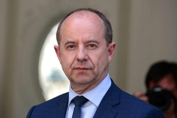 Jean-Jacques Urvoas, 17 de mayo de 2017.
