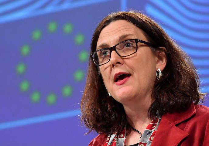 Europäische Kommission für den Handel, Cecilia Malmström, Brüssel, 18. Januar.