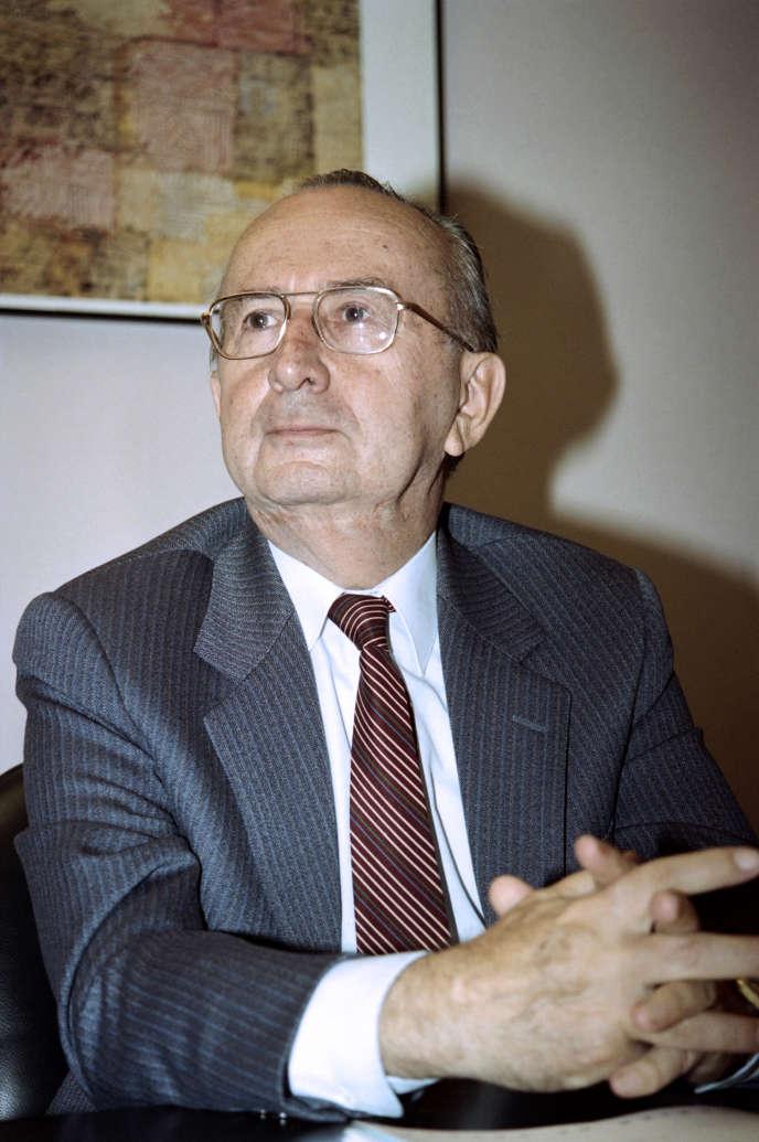 Jean Serisé, August 8, 1993, in Paris.