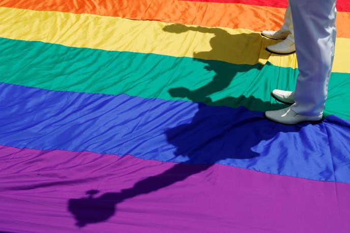 Le premier mariage homosexuel a été célébré vendredi 24 mai à Taïwan.