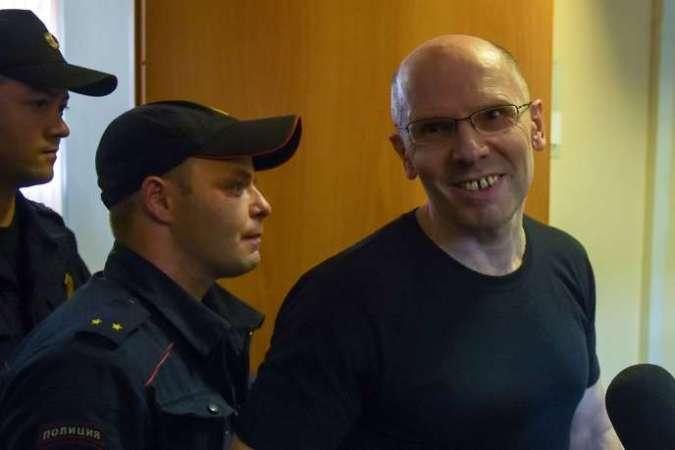 Igor Roudnikov, lundi 17 juin, au tribunal de Saint-Pétersbourg en Russie.