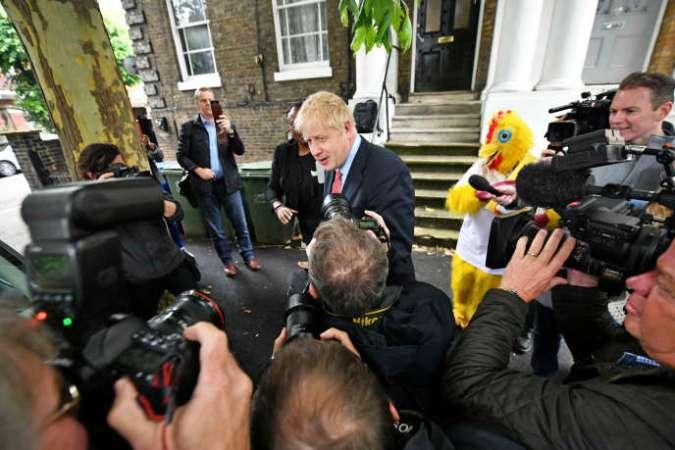 Boris Johnson, mercredi 19 juin à Londres.