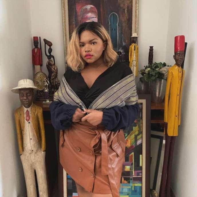La Française d'origine ivoirienne Donia Diallo qui a créé la marque D.Taylor à Abidjan.