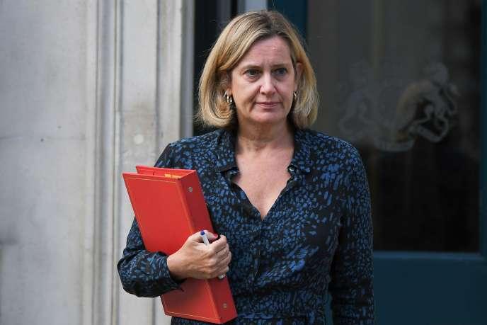 La ministre du Travail, Amber Rudd, le 2 septembre à Londres