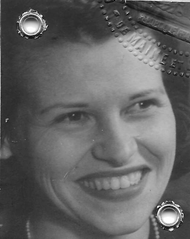 Portrait de Noëlla Rouget, vers 1943.
