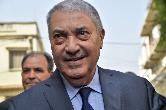 L'ex-premier ministre algérien Ali Benflis, en février à Alger.