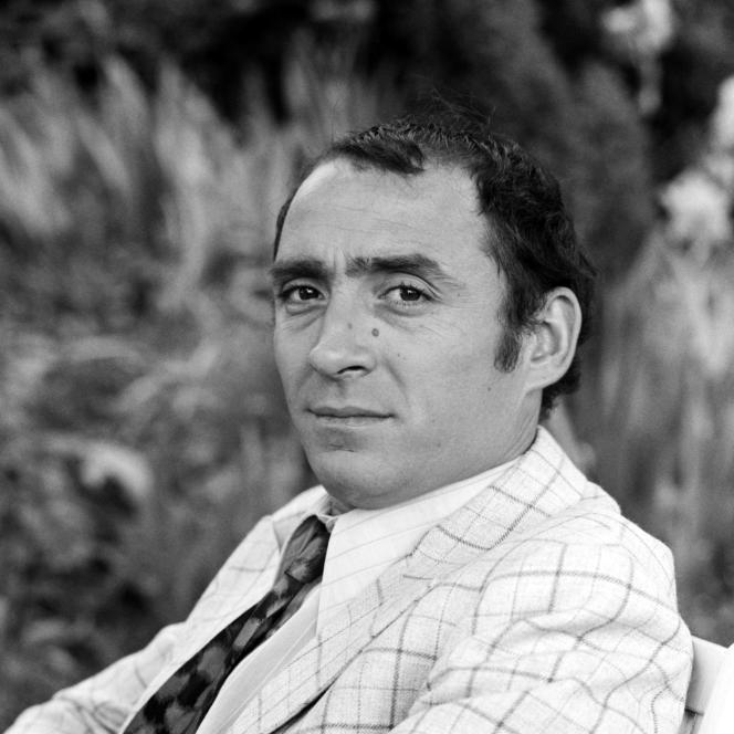 Claude Brasseur dans le téléfilm «Les Eaux mêlées», en 1969.