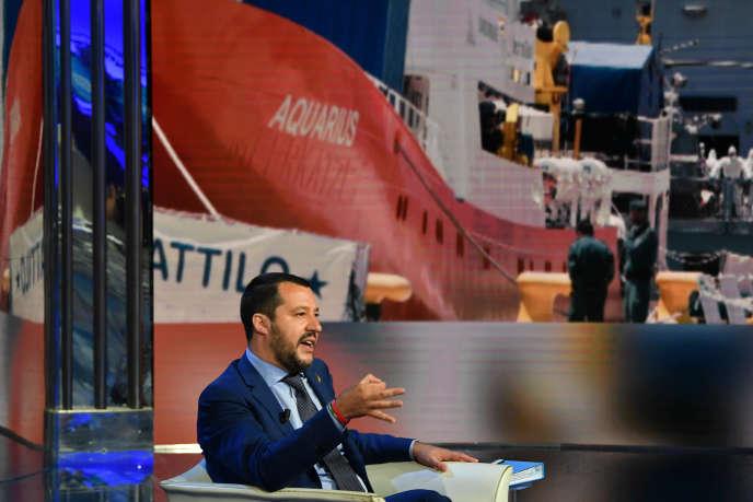 Matteo Salvini sulla scheda