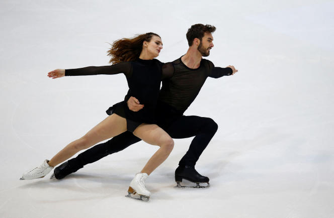 Gabriella Papadakis and Guillaume Cizeron, November 2, 2019 in Grenoble.