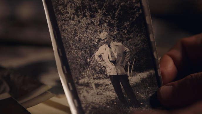 Undated photo of Boris Pasternak. Image from Nino Kirtadze's documentary.