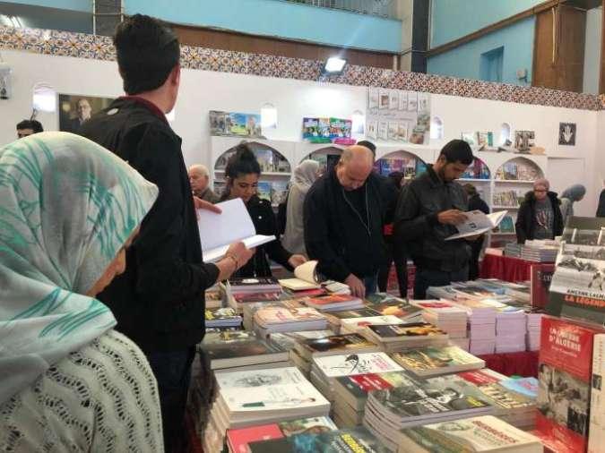 Le 24e Salon international du livre d'Alger, début novembre 2019.