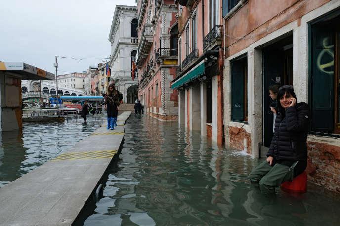 Venezia, Italia, 17 Novembre.