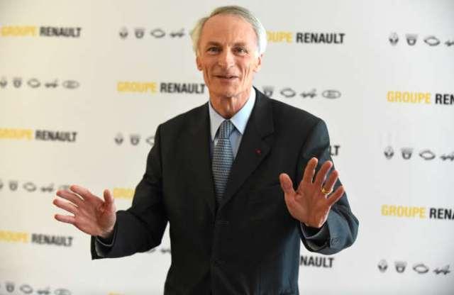 Jean-Dominique Senard, président de Renault, le 11 octobre, au siège de la compagnie, à Boulogne-Billancourt.