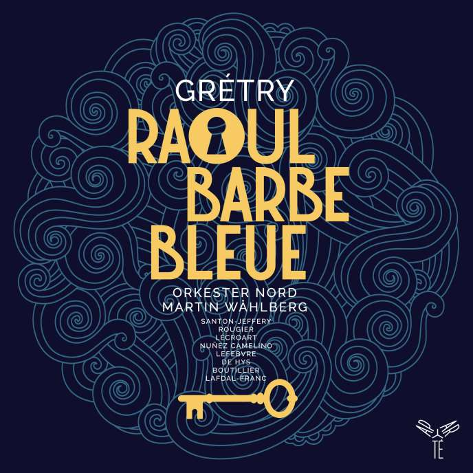 "Cover of the album ""Raoul Barbe-Bleue"" by André Grétry."