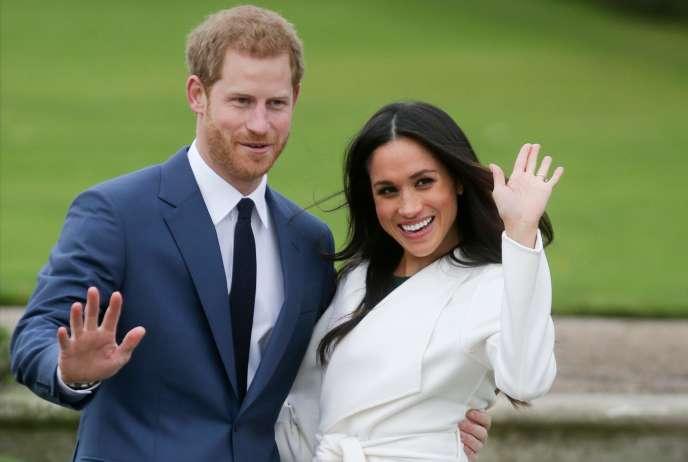 Le prince Harry et Meghan Marckle en novembre 2017.