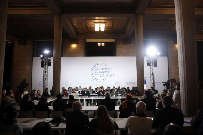 Emmanuel Macron was interviewed, Friday, January 10, by the 150 French drawn to participate in the Citizen Convention for the climate.