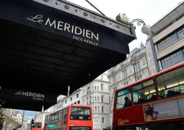 Un hôtel du groupe Méridien à Londres.