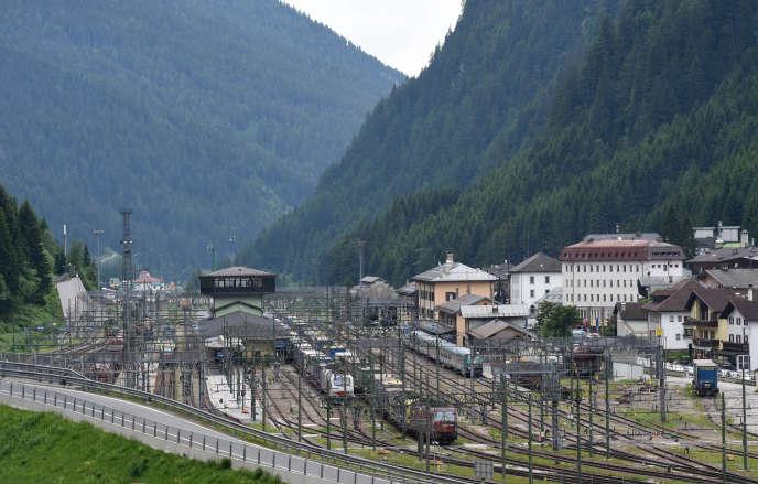 La stazione del Brennero, 8 giugno 2018.