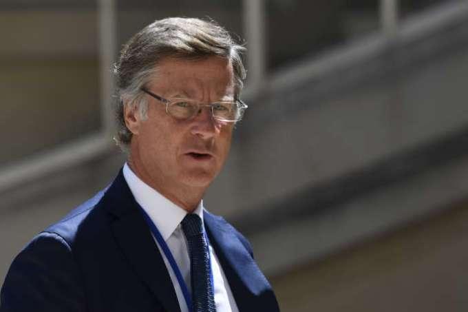 Le patron d'Accor, Sébastien Bazin, à Paris, en mai 2019.