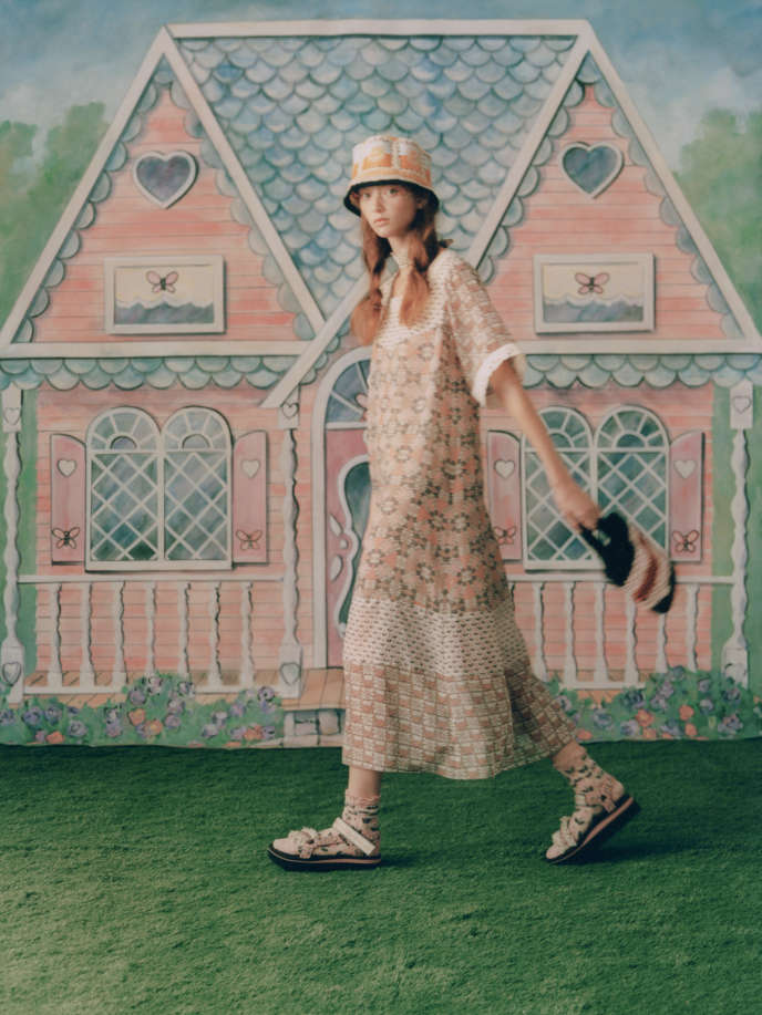 Anna Sui, Spring-Summer 2021.