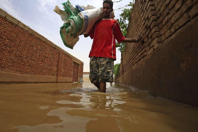 Sur l'île de Tuti, où le Nil Bleu et le Nil Blanc se rejoignent entre les villes jumelles de la capitale Khartoum et d'Omdourman, au Soudan, le 3 septembre 2020.