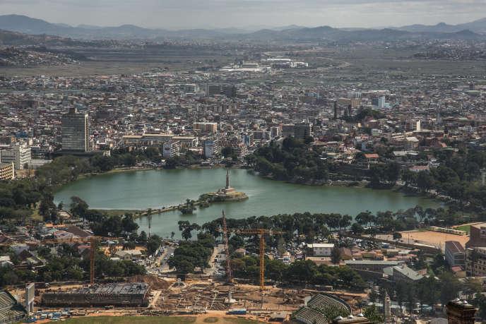 Une vue générale d'Antananarivo, en mai 2020.