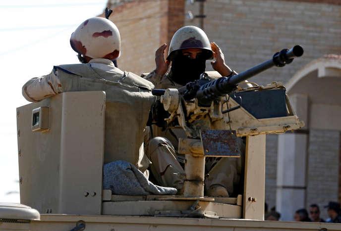 La Force multinationale d'observateurs au Sinaï égyptiencompte un peu plus de 1100soldats de différentes nationalités.
