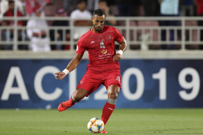 Le défenseur marocain Medhi Benatia à Doha, au Qatar, en avril 2019.