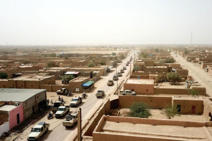 Dans le nord du Mali, Kidal, fief de la COordination des mouvements de l'Azawad.
