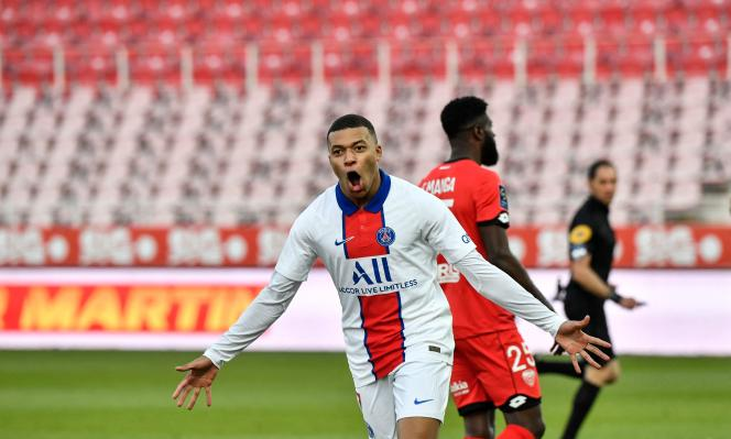 French international Kylian Mbappé scored another brace against Dijon on Saturday February 27.