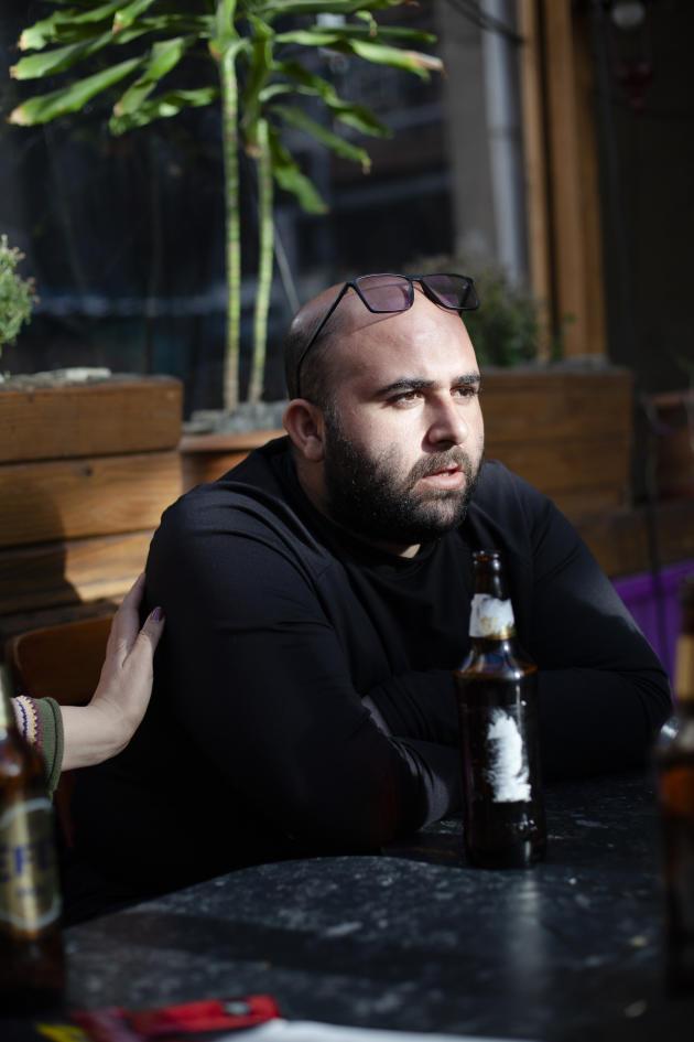 Le journaliste Mohammad Mosaed, à Ankara, le 11 mars 2021.
