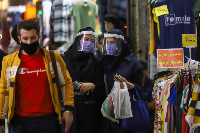 Au grand bazar de Téhéran, le 6 avril.