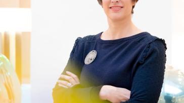 Sophie Mainier, directrice de la galerie Mouvements modernes