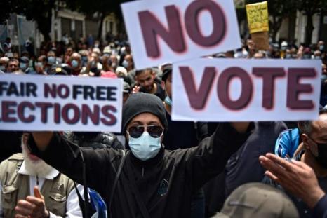 Vendredi 30 avril, les manifestants ont répété leur rejet des élections législatives anticipées convoquées en juin.