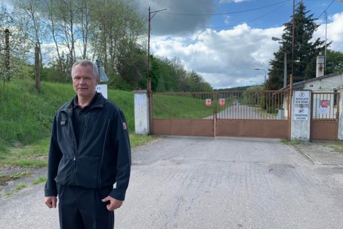 Jiří Ovesný, 56 ans, est chef depuis 25 ans de la petite caserne de pompier de Valašské Klobouky.