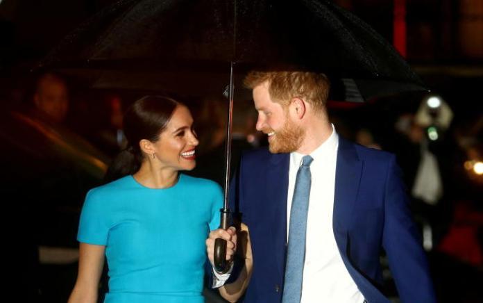 Meghan Markle et le prince Harry, le 5 mars 2020, à Londres.