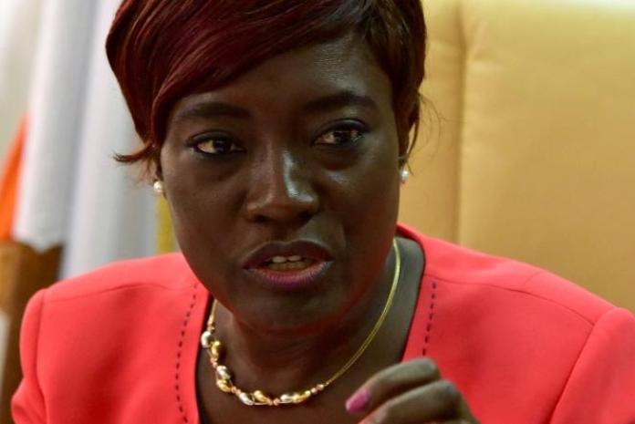 Mariatou Koné (ici en 2018 à Abidjan) a été nommée ministre de l'éducation nationale et de l'alphabétisation le 6avril 2021.